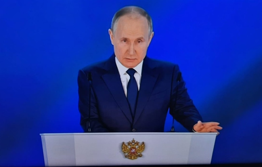 Владимир Путин, президент РФ