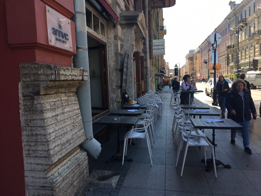 Улица Рубинштейна потеряла за год 10 объектов