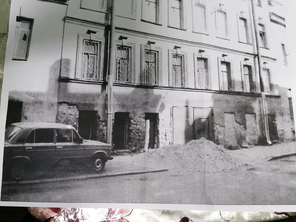 Так выглядело помещение кафе, когда досталось Вере Умиевой в аренду