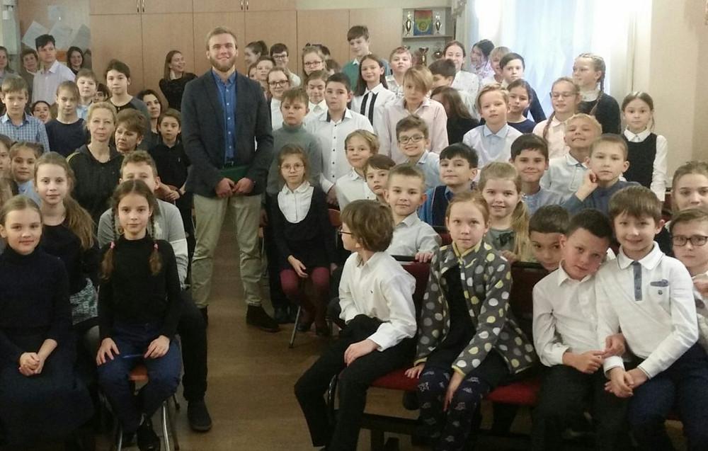 """Частная школа """"Паскаль Лицей"""" регулярно проводит мероприятия и встречи для учеников школы"""