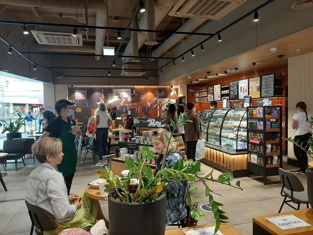Кафе в торговых центрах увеличивают трафик