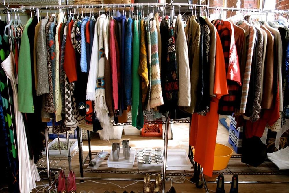 Одежду hand made  чаще всего можно встретить на ярмарках