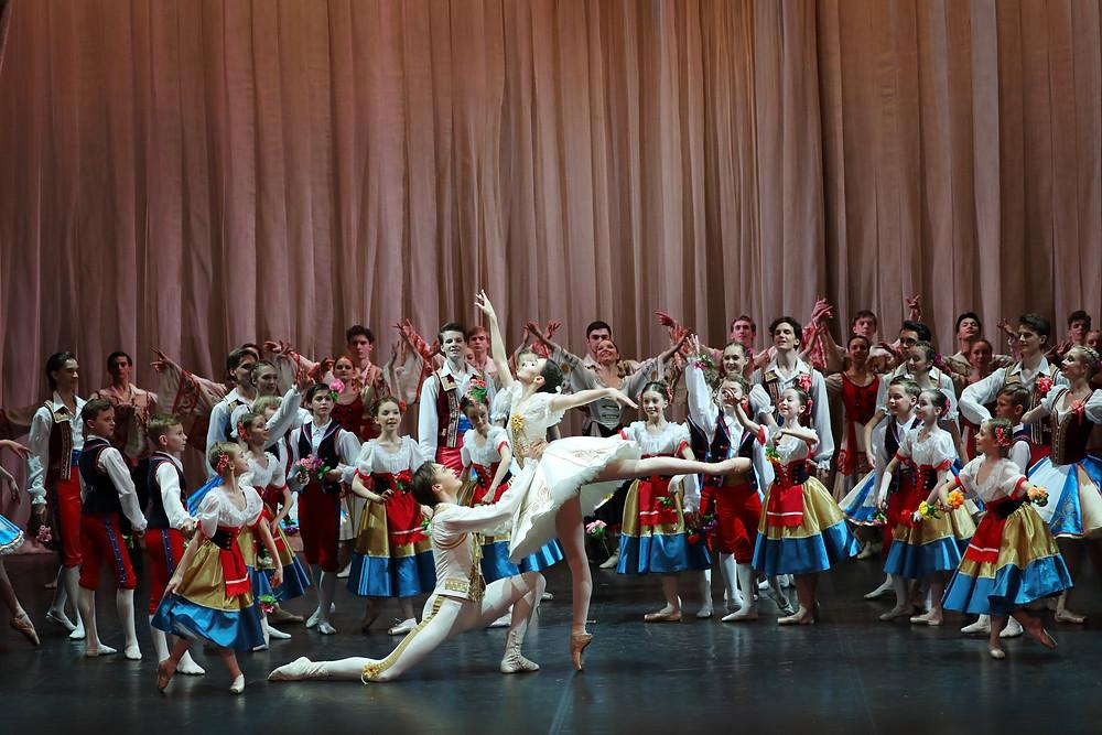 """Балет """"Коппелия"""" Академии Русского балета"""