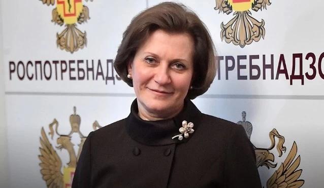 Анна Попова, глава Роспотребнадзора