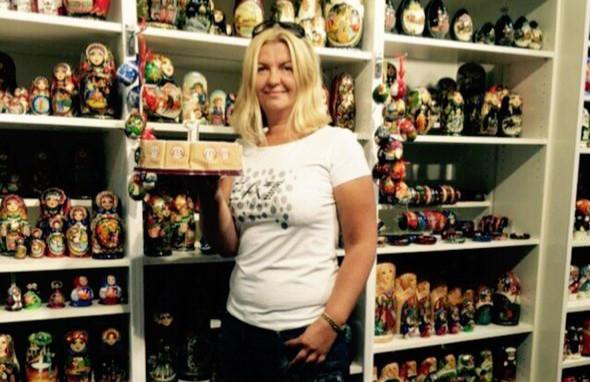 Наталья Бондарева торгует сувенирами с 1999 года