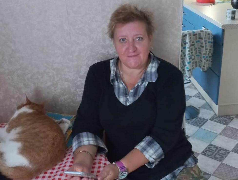 Предпринимательница Надежда Гаврикова
