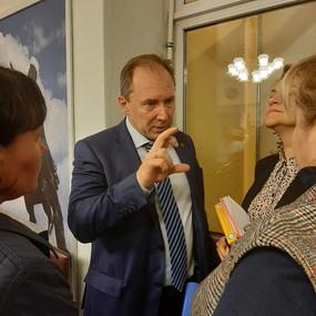 Юрий Калабин дал бой предпринимателям