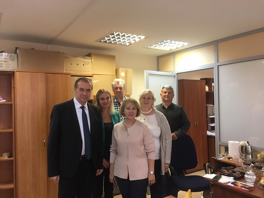 В офисе СПИЛП вместе с болгарскими коллегами
