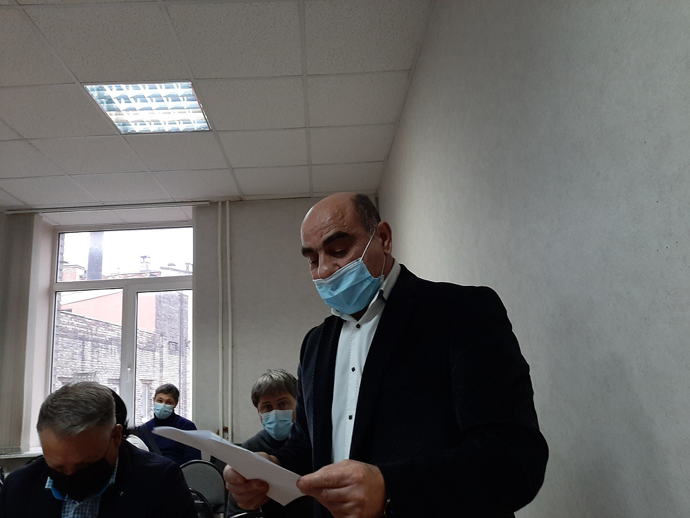 Предприниматель Ашот Эфендиев