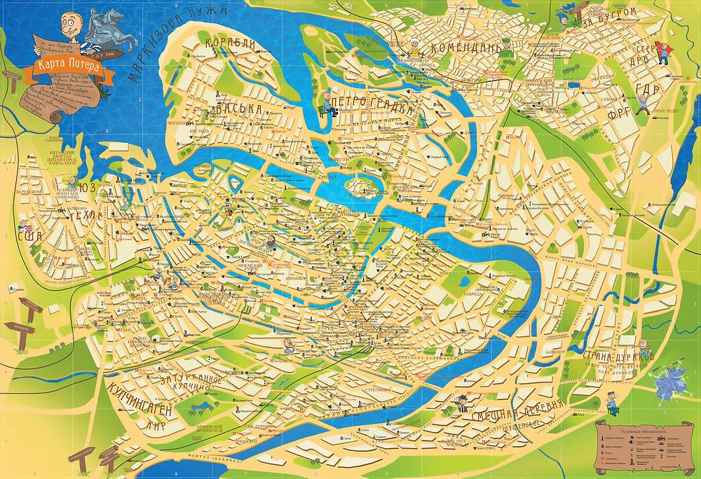 На карте Петербурга укажут безопасные места