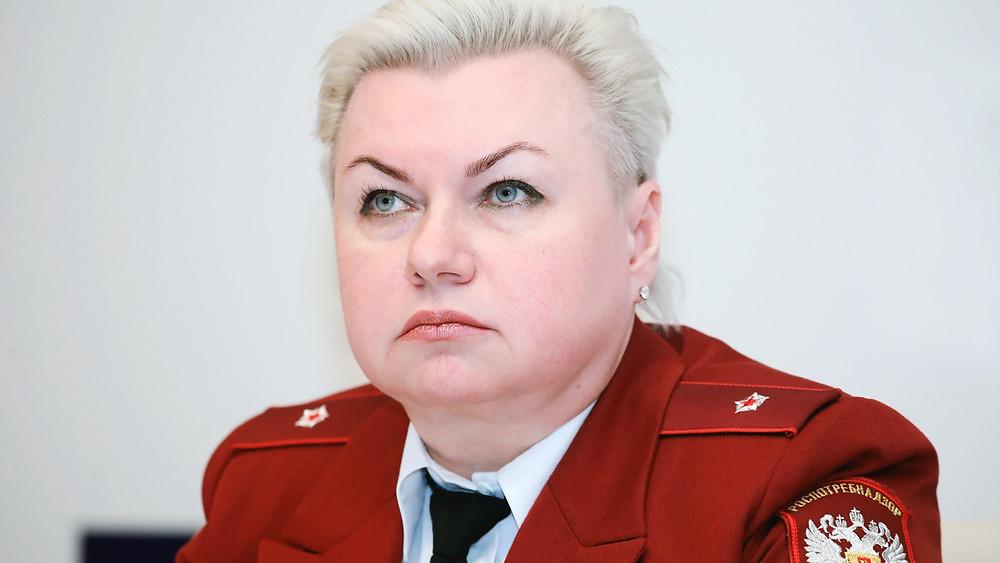 Наталья Башкетова, главный санитарный врач Петербурга