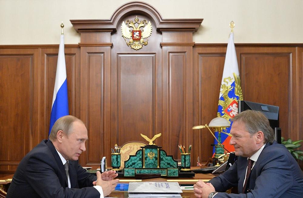 Владимир Путин и Борис Титов встречаются регулярно