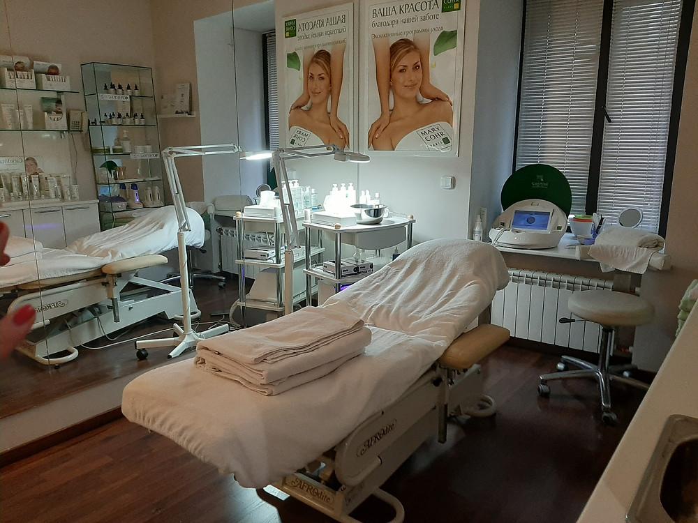 Зал для косметических процедур