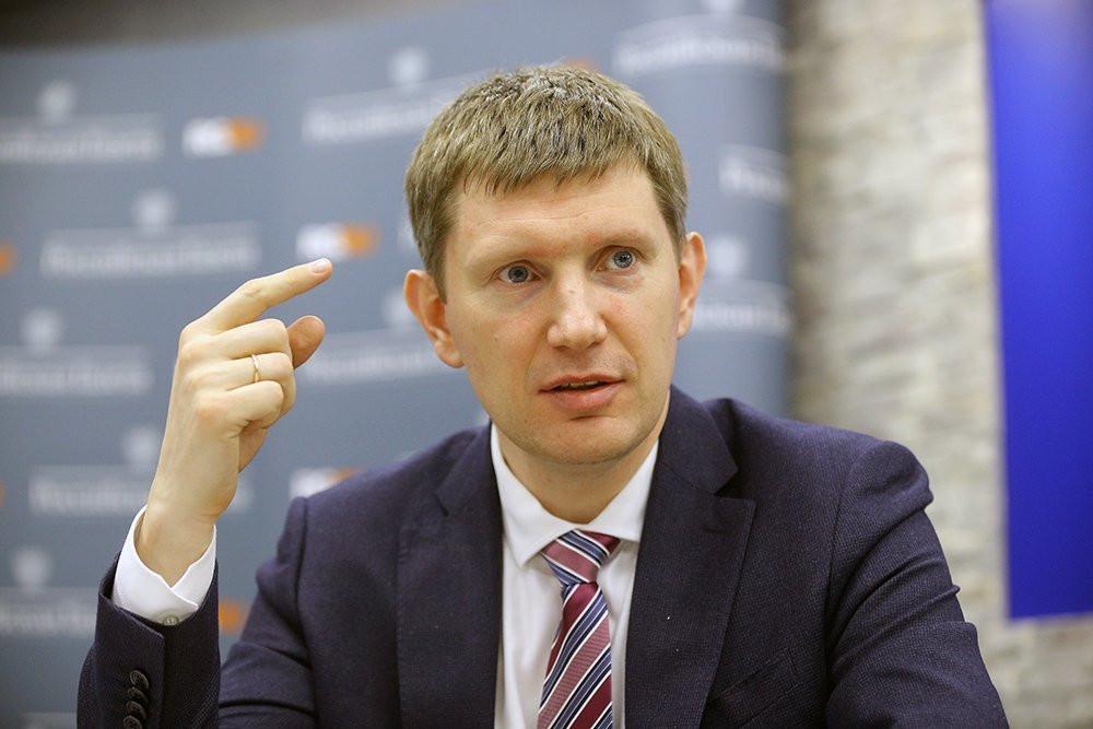 Министр экономического развития Максим Решетников