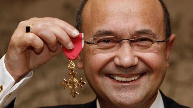 Тони Масколо в 2008 году за свои заслуги получил Орден Британской империи