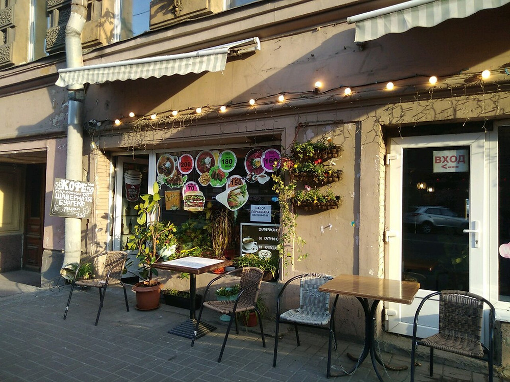 Кафе Печка на ул Жуковского