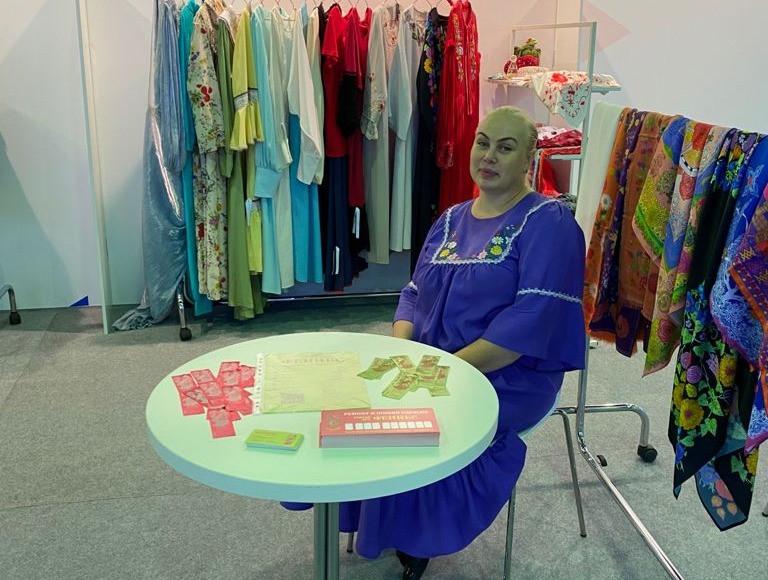Наталья Тимофеева, художник-дизайнер одежды в русском стиле