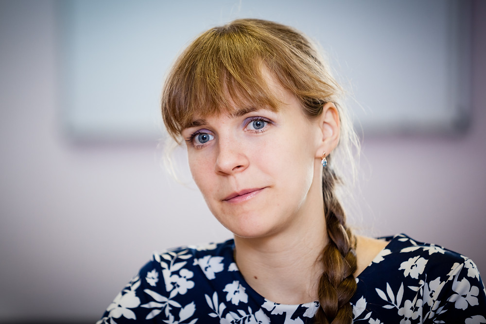 """Лиза Олескина, директор благотворительного фонда """"Старость в радость"""""""