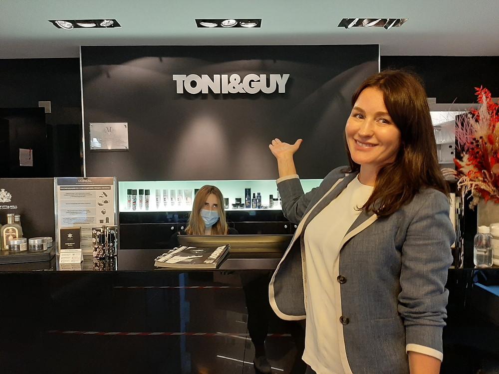 Елена Игнатьева, совладелица парикмахерских салонов Tony&Guy