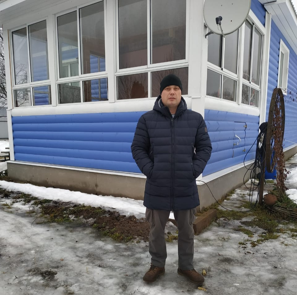 Евгений Карвонен, староста Борисово