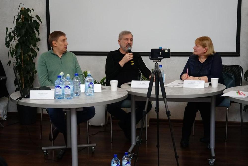 Владислав Тупиков, Лев Авербах и Лилия Агаркова