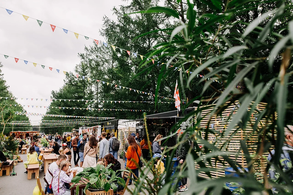 Фуд-фестиваль на Крестовском в сентябре 2020 года