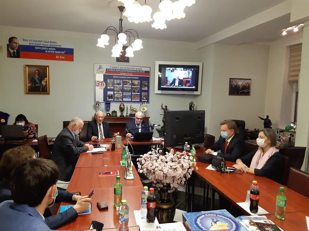 Онлайн-офлайн конференция с Кириллом Соловейчиком в приемной Союза