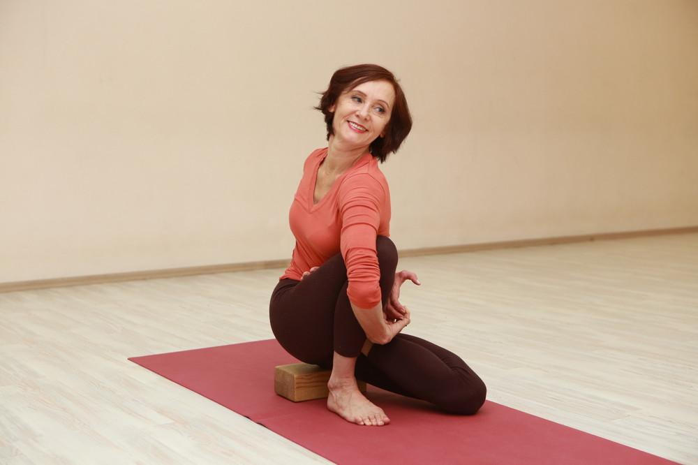 Татьяна Бородаенко преподает йогу 27 лет