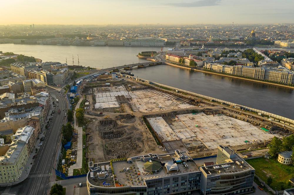 """Как выглядит сейчас будущий парк """"Тучков Буян"""""""