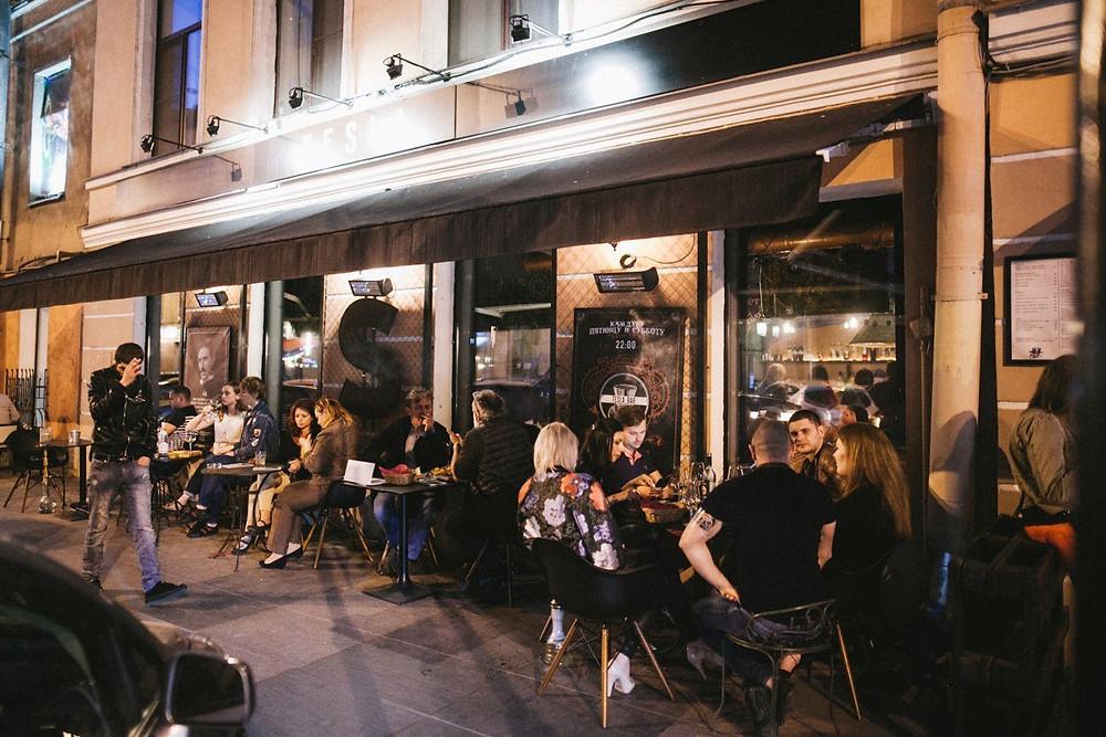 Бары и рестораны, имеющие алкогольную лицензию, всегда в зоне риска