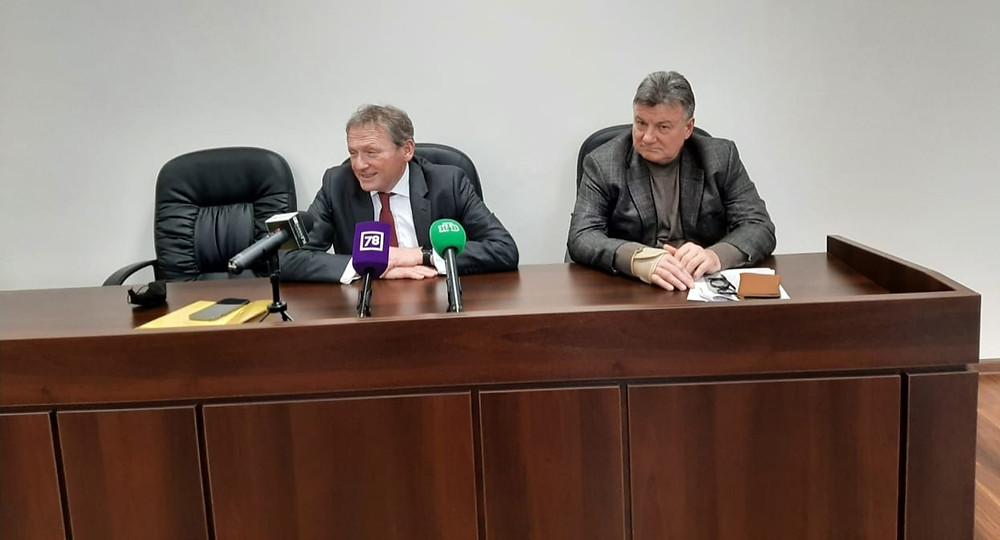 Борис Титов и Александр Абросимов