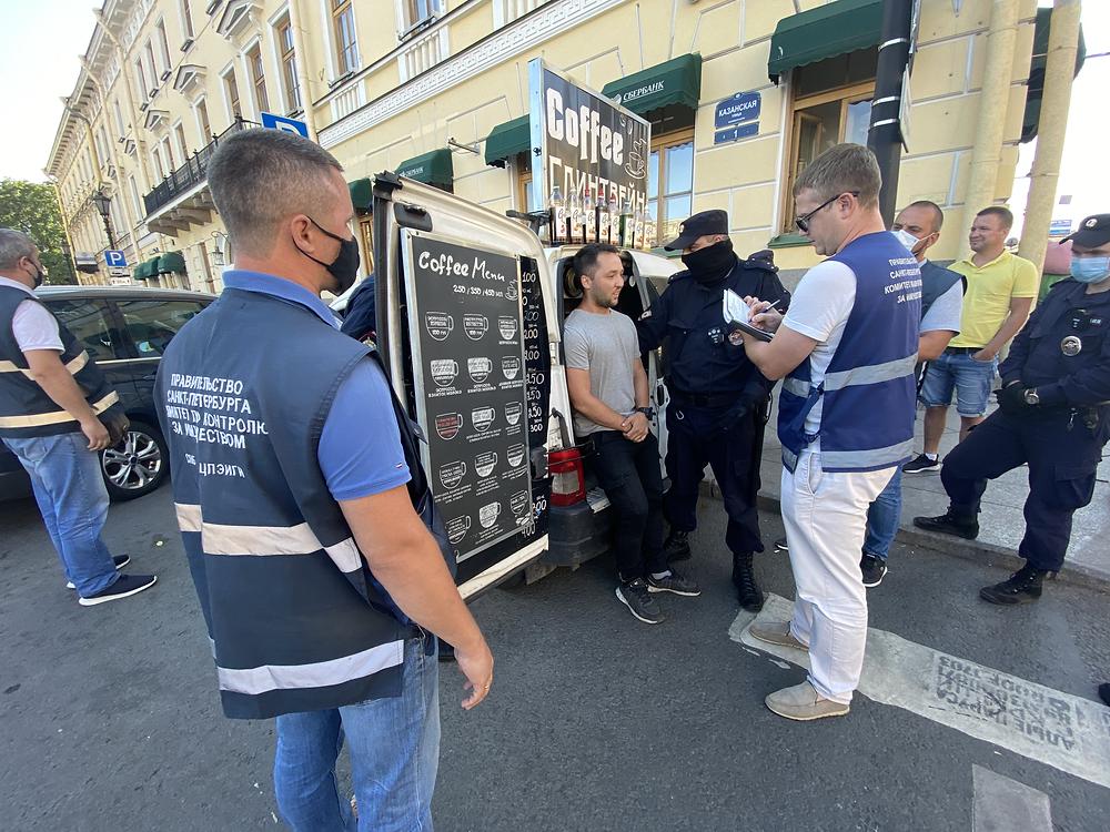 Наконец-то руки дошли до незаконных кофе-машин в центре города