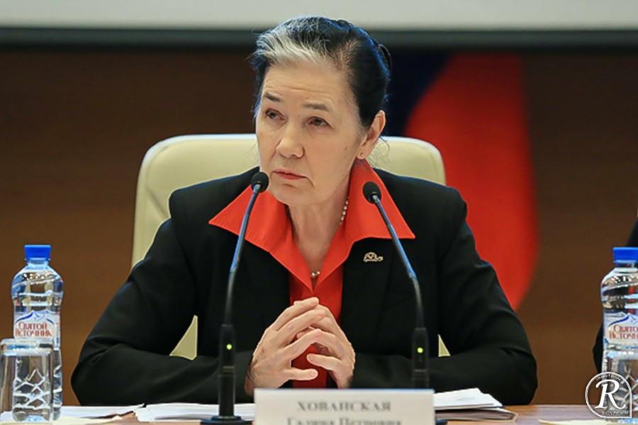 Депутат Госдумы Галина Хованская готовит новую законодательную инициативу