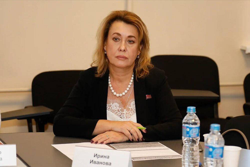 Депутат ЗС Петербурга Ирина Иванова