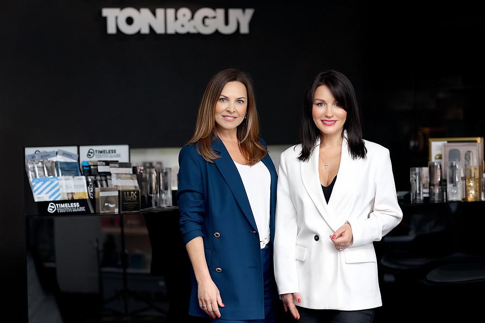 Севиль Бабаева и Елена Игнатьева, партнеры по бизнесу Toni&Guy