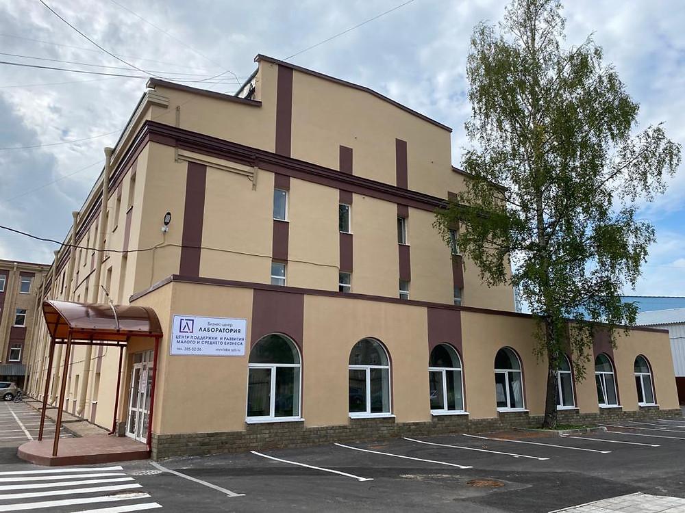 Здание частного ЦРПП площадью 7 тыс м2