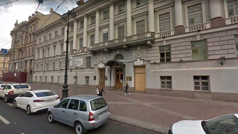 Здание Росимущества по Петербургу и Ленинградской области