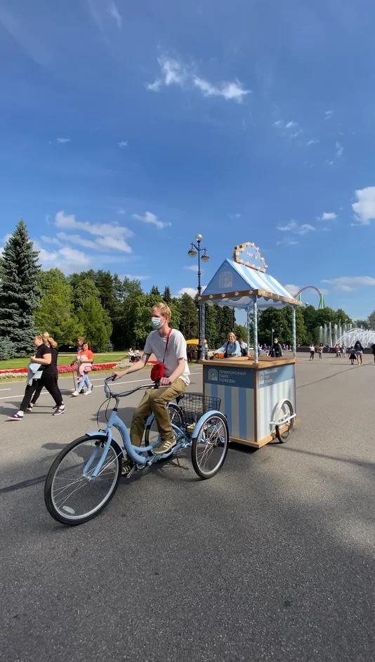 Велорикши будут продавать мороженое