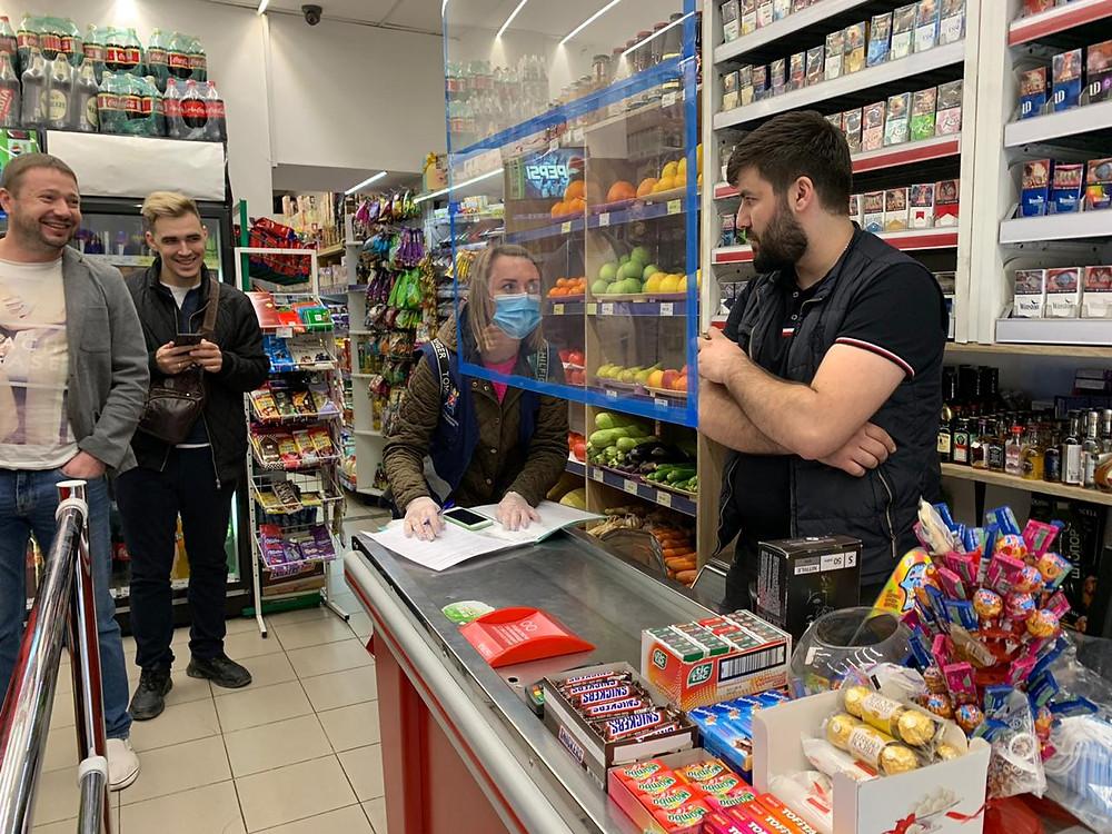 Магазин в Петроградском районе