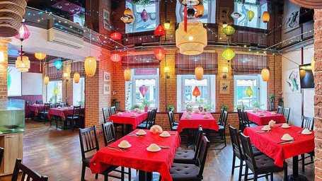 Китайский ресторан на Английском пр. работает 7-ой год
