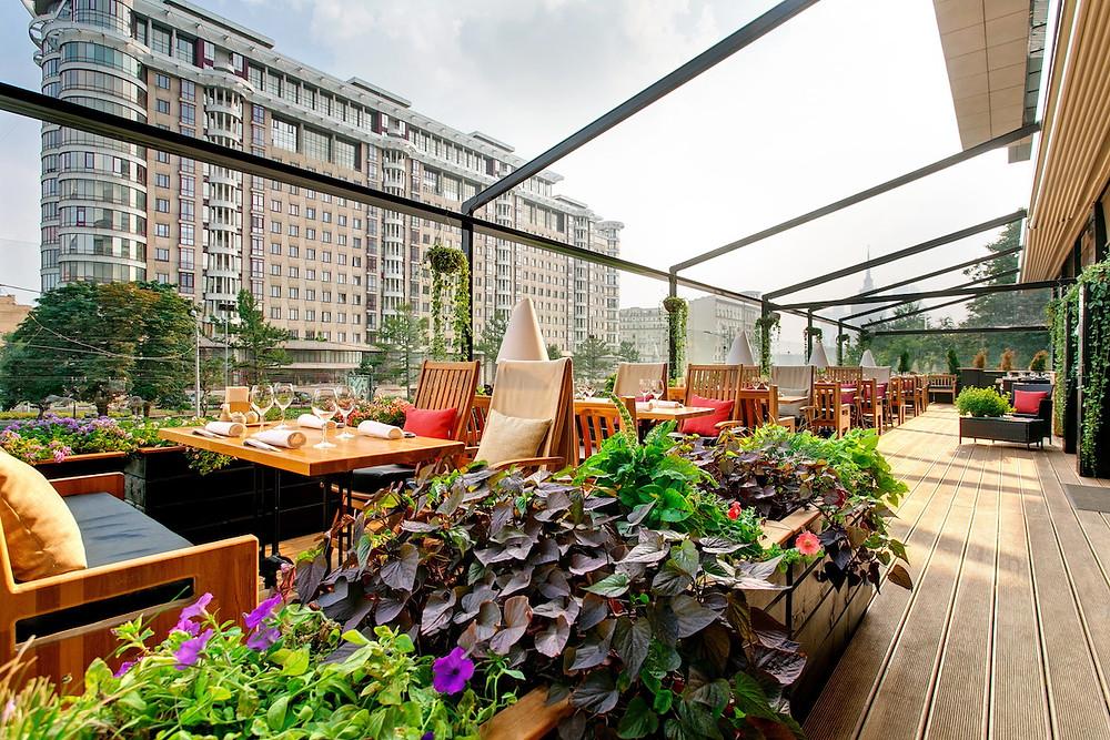 Московские летние веранды ресторанов