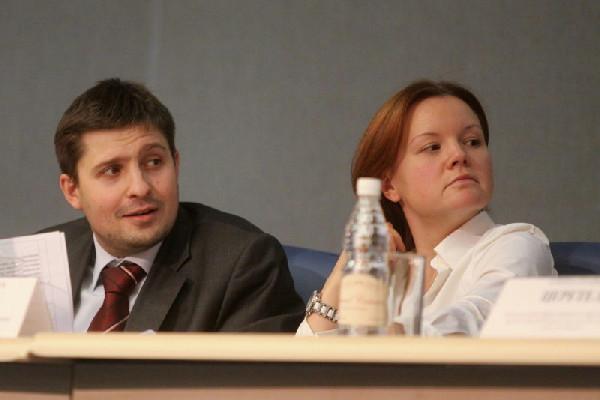 Кирилл Федоров и Мария Смирнова в пору работы в комитете управления госимуществом Смольного