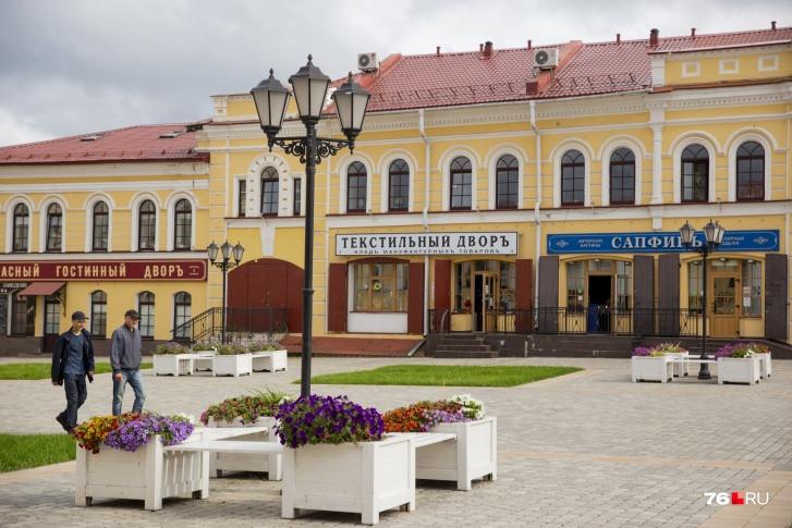 Центр Рыбинска выглядит как в 19 веке