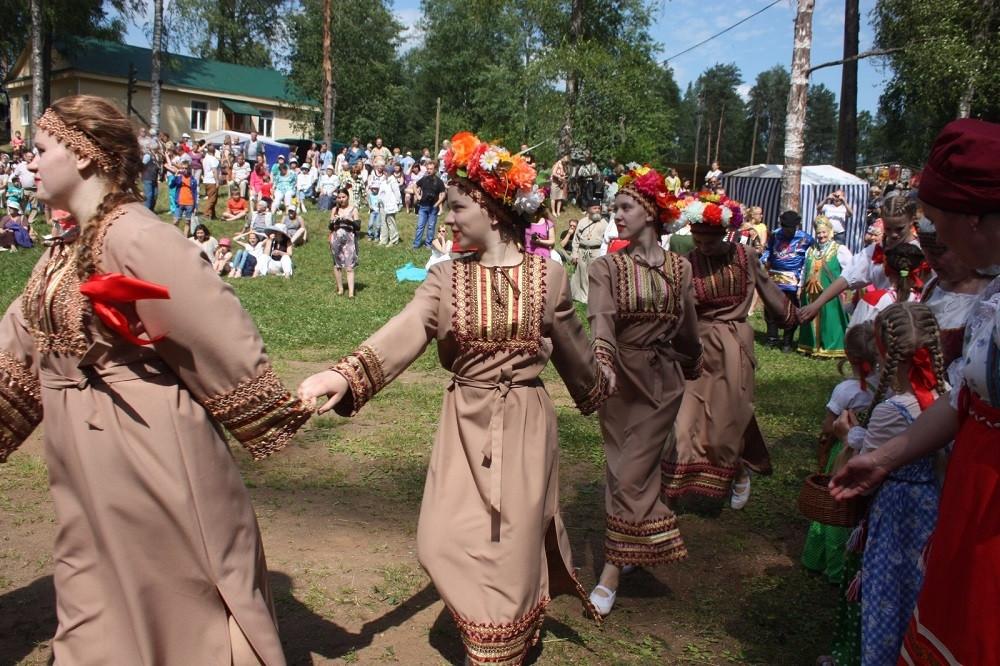 Праздник вепсской культуры в Подпорожском районе