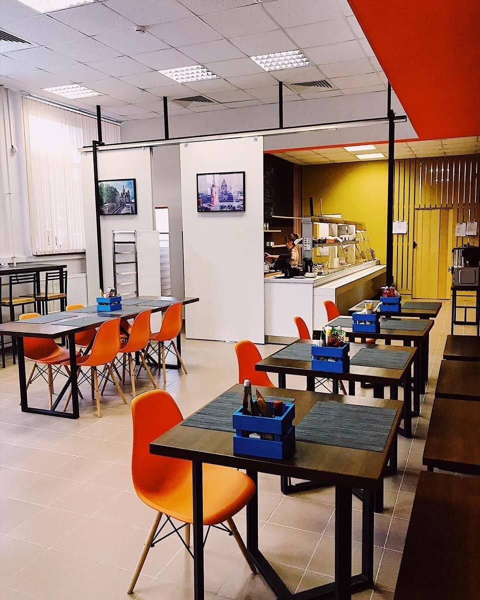 """""""Кафе 61"""" в Центре развития и поддержки предпринимательства на Полюстровском пр."""