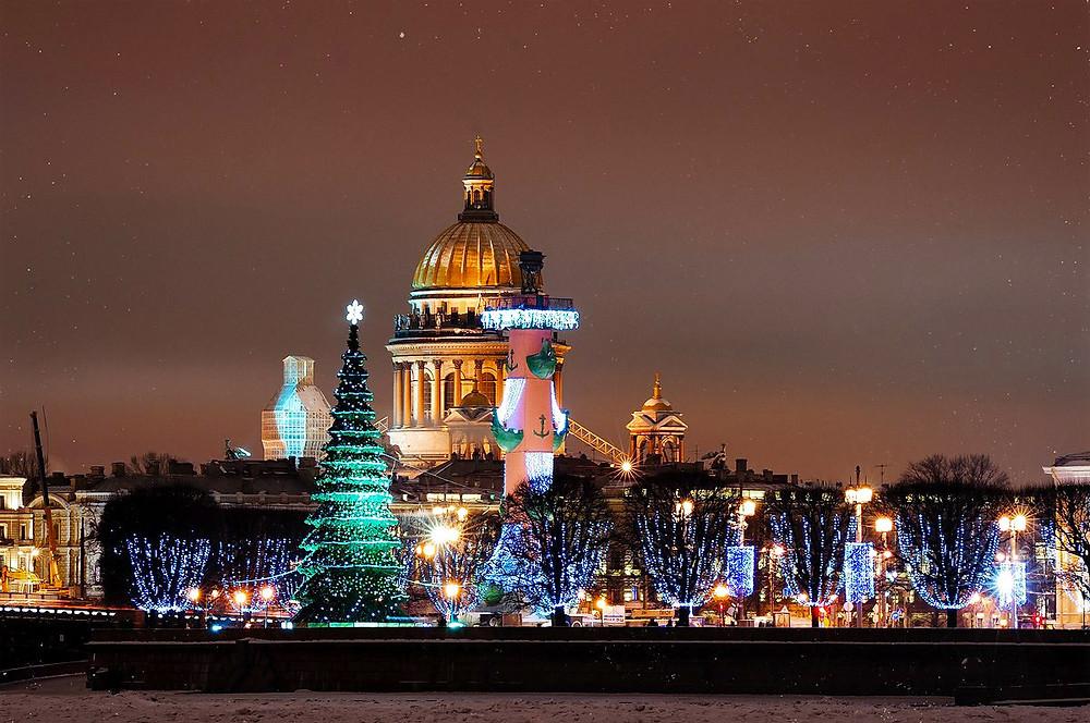 Петербург будет пуст в новогодние праздники