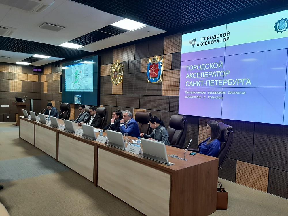 Презентация прошла в Невской Ратуше