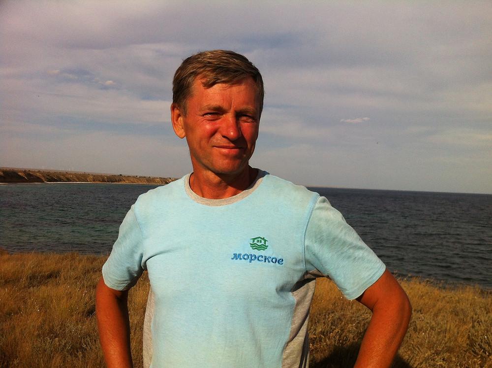 Сергей Сидоренко уже 10 лет развивает в Крыму фермерское хозяйство