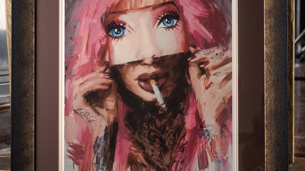 """Barbie Mask"" One of a Kind: Artists Proof"