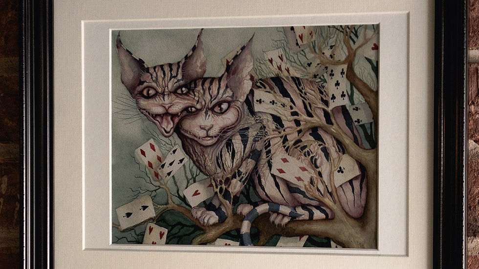 """Twin Head Cheshire Cat"""